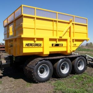 Peat trailers